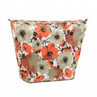 Organizer Poppies for Classic Handbag Humbag