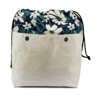 Organizer for Humbag White Flower Handbag