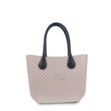 Handbag Humbag Coffee Latte Quilted