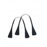 Handles|Eco Leather|Angular|Black|45 cm